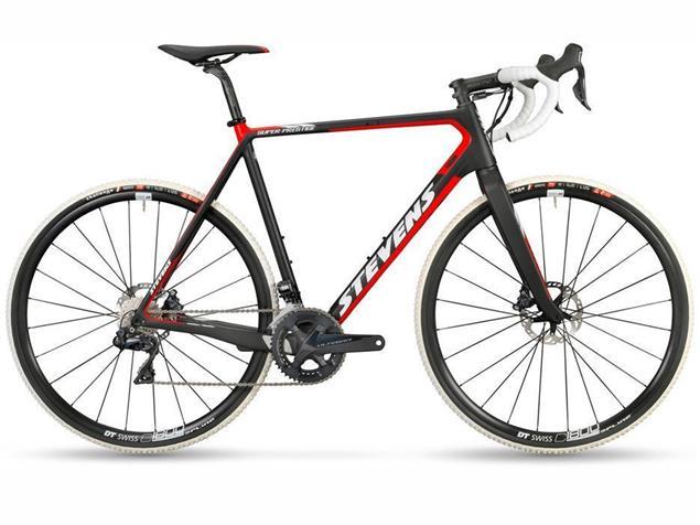 Stevens Super Prestige Disc Di2 Cyclocrossrad - 50 ink black