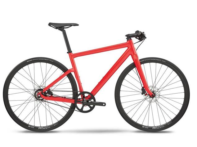 BMC Alpenchallenge AC01 Three Alfine 8 Speedbike - XL super red