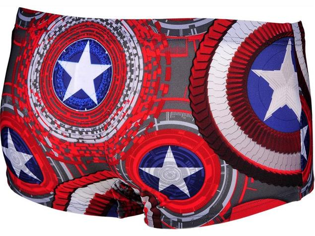 Arena Marvel Short Badehose Low Waist - 3 captain america marvel