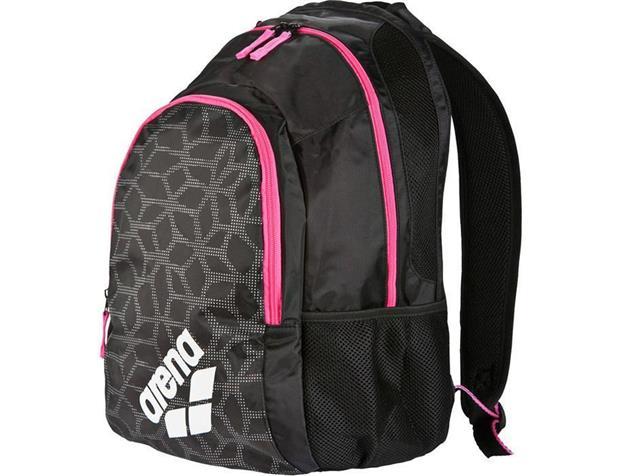 Arena Spiky 2  Backpack Rucksack 30 Liter - black/x-pivot/fuchsia