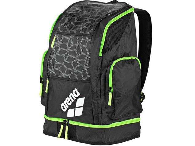 Arena Spiky 2 Large Backpack Rucksack 40 Liter - black/x-pivot/fluo green