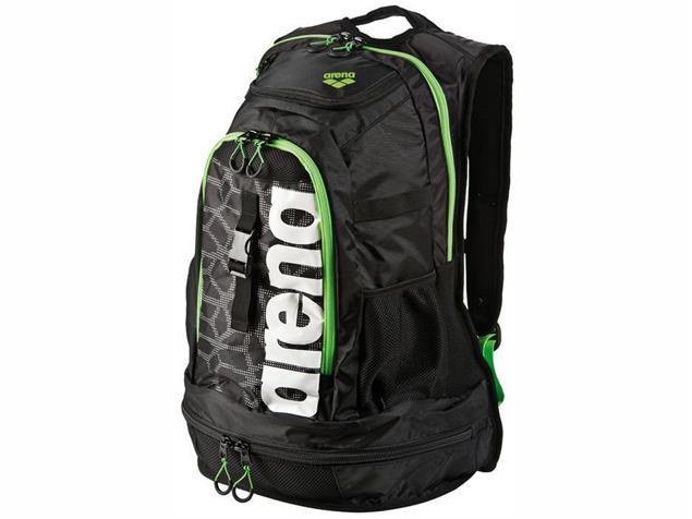 Arena Fastpack 2.1 Rucksack 45 Liter - black/x-pivot/fluo green