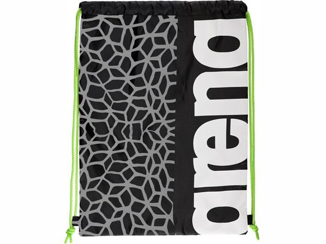 Arena Fast Swimbag Tasche - black/x-pivot/fluo green