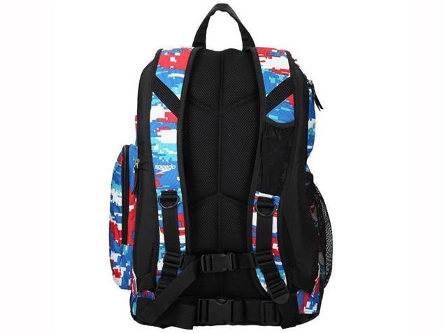 Speedo T-Kit Teamster Rucksack 35 Liter - digi camo/red/white/blue