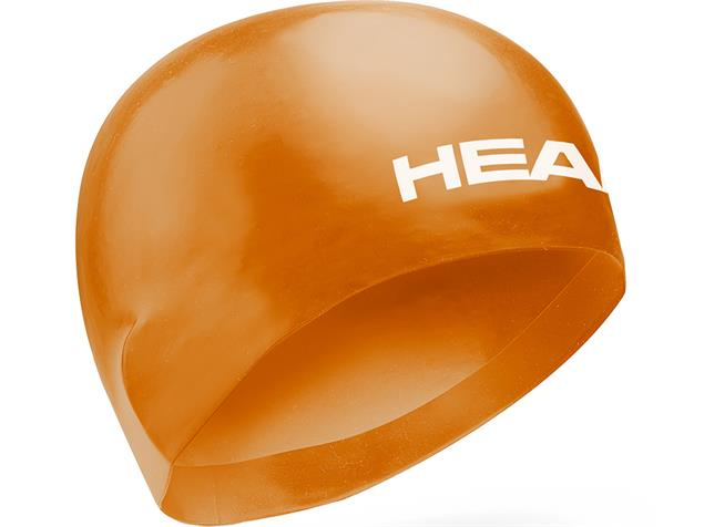 Head 3D Racing Cap Badekappe - M orange
