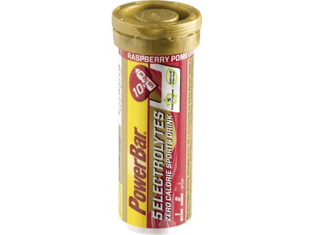 PowerBar 5 Electrolytes Sports Drink Tabs Brausetabletten - himbeer-granatapfel