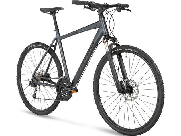 Stevens 5X Gent Crossrad - 48 granite grey