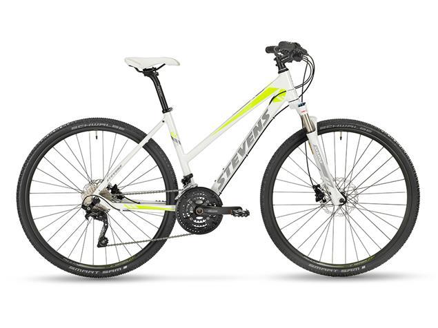 Stevens 6X Lady Crossrad - 50 pearl white