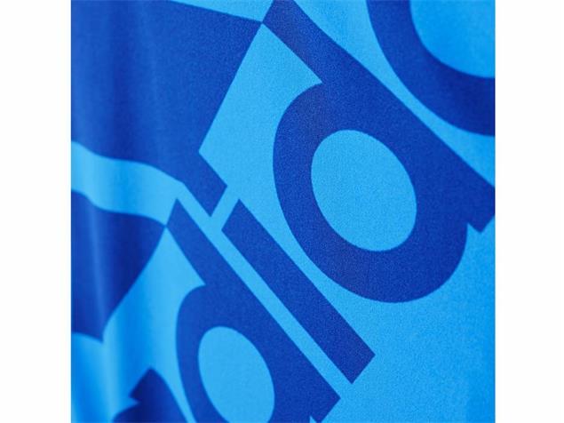 Adidas Clubline Plus Badeanzug shock blue X-Back, Infinitex+ - 38 shock blue/blue