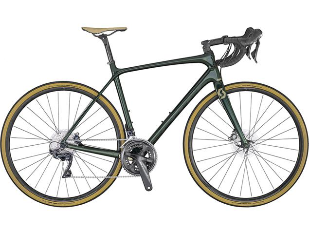 Scott Addict 10 Disc Rennrad - 56/L kelp green/champagne