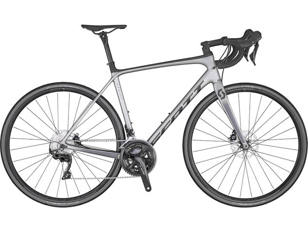Scott Addict 20 Disc Rennrad - 61/XXL pale grey/dark grey