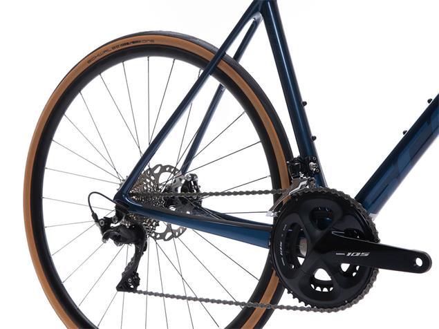 Scott Addict 20 Disc Rennrad - 49/XS tone blue/champagne