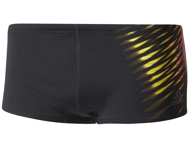 Adidas Graphic Badehose Infinitex+ - 5 black/shock pink/yellow