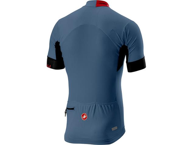 Castell Aero Race 4.1 Solid Jersey Trikot kurzarm - L light steel blue