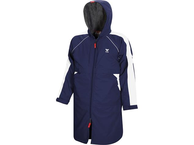 TYR Alliance Team Parka Wärmemantel - L navy