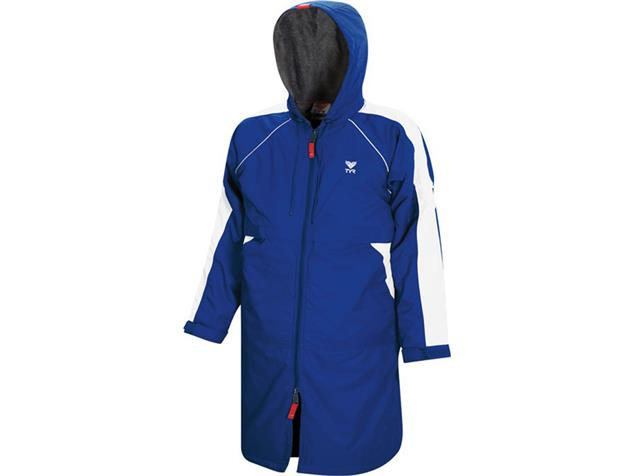 TYR Alliance Team Parka Wärmemantel - XS royal