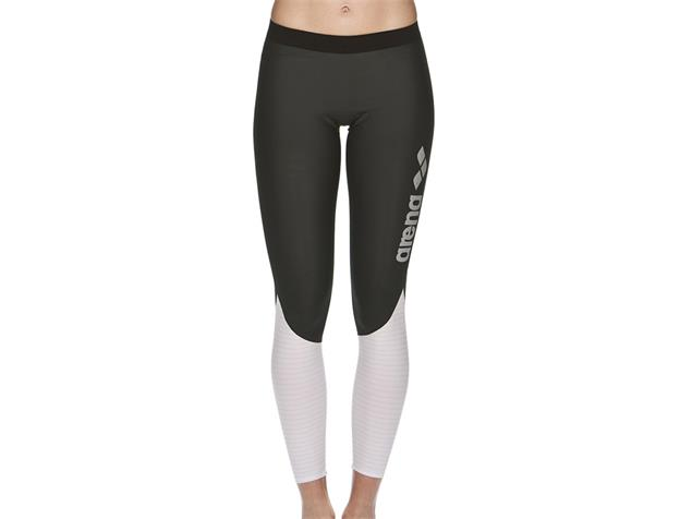Arena Carbon Compression Women Long Tight - S deep grey/white