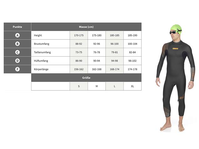 Arena Triwetsuit Carbon Men Neoprenanzug Sleeveless - M