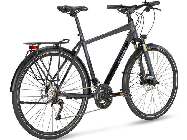 Stevens Avantgarde Gent Trekkingrad - 58 granite grey