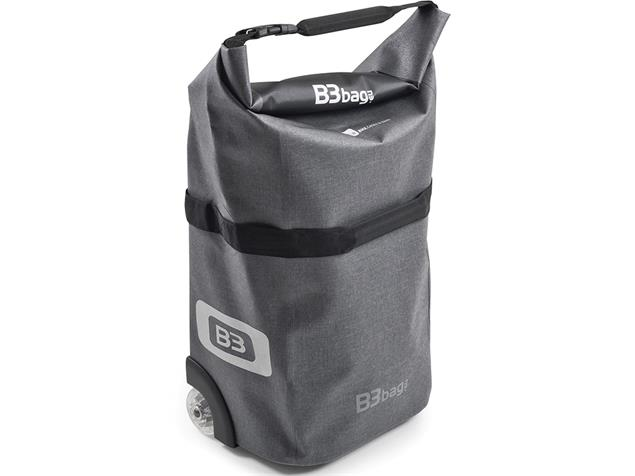 B&W B3 Bag Fahrrad-Trolley - grey
