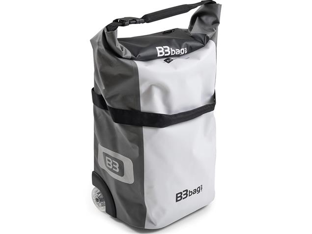 B&W B3 Bag Fahrrad-Trolley - white