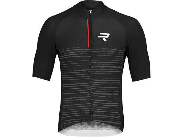 Ridley BCF Men Shirt Shirt Trikot kurzarm - M black/grey/red