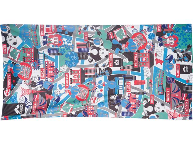 Arena Beach Smart Towel Microfaser Handtuch 170x90 cm - kun