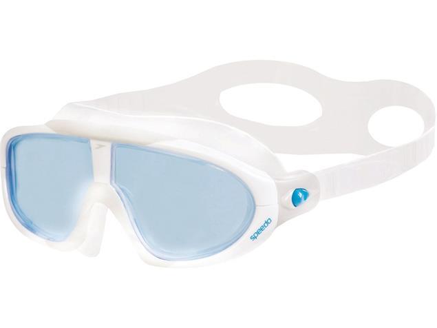 Speedo Biofuse Rift  Mask Schwimmbrille - white-grey/blue