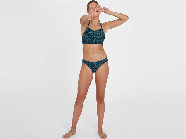 Speedo Boomstar Allover Thinstrap Schwimmbikini  Endurance10 - 36 navy/blue