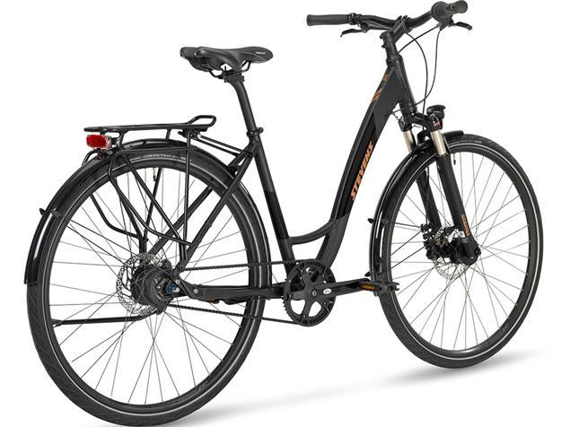 Stevens Boulevard Luxe Forma Cityrad - 46 stealth black