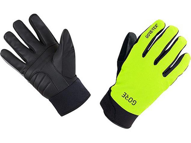 Gore C5 Gore-Tex Thermo Handschuhe - 9 schwarz/neongelb