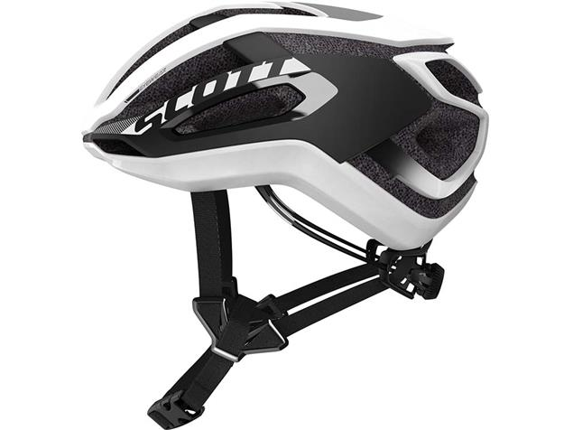 Scott Centric Plus 2020 Helm - M white/black