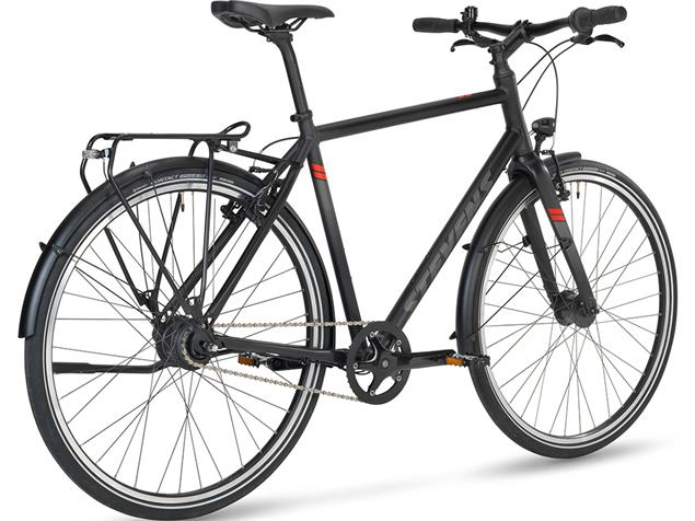 Stevens City Flight Gent Cityrad Bike Bild edition - 55 velvet black
