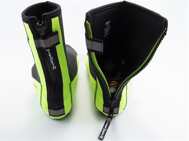Zwölfender Classic Neopren Überschuh - XL black/yellow fluo