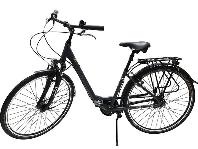 Gudereit Comfort 7.0 Einrohr Cityrad - 41 grau