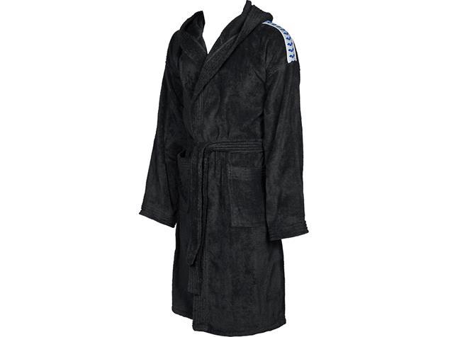 Arena Core Soft Robe  Bademantel - XL black/white