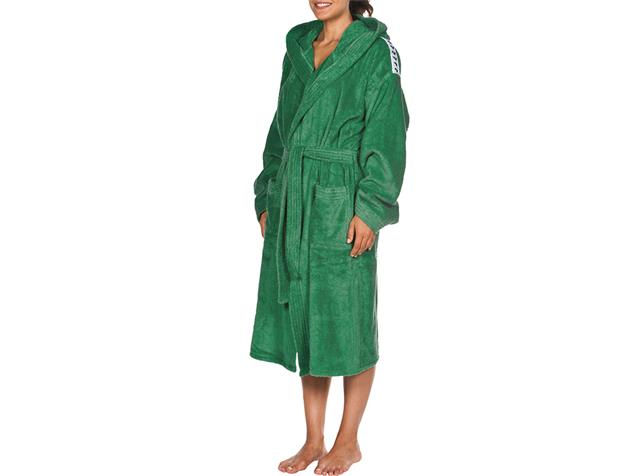 Arena Core Soft Robe  Bademantel - XL green/white