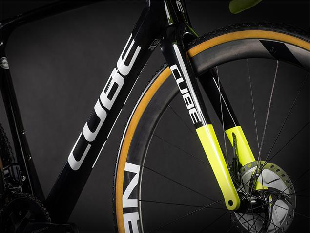 Cube Cross Race C:62 Team Edition Cyclocrossrad - 53 carbon'n'flashyellow