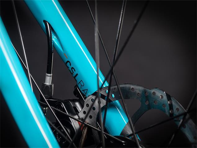 Cube Attain Race Rennrad - 60 petrol'n'orange
