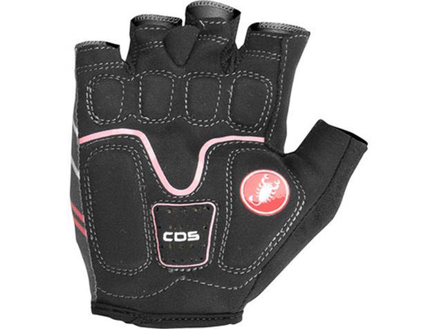 Castelli Dolcissima 2 Women Glove Handschuhe - XL dark gray/giro pink