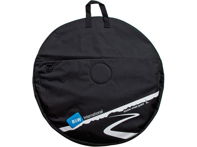 B&W Double Wheel Guard L Laufradtasche - black