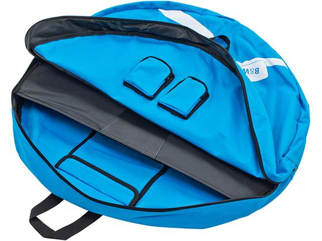 B&W Double Wheel Guard L Laufradtasche - blue