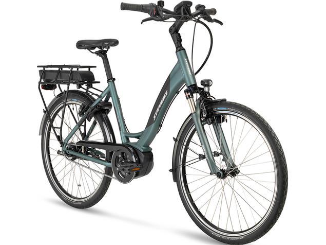 "Stevens E-Cito 26"" Forma Elektrorad - 46 grey green"