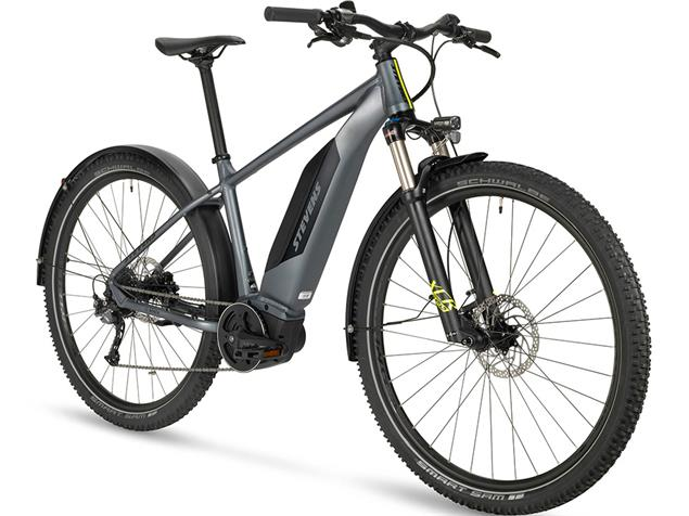 "Stevens E-Hazard 29"" Adventure Elektrorad - 22"" foggy grey"