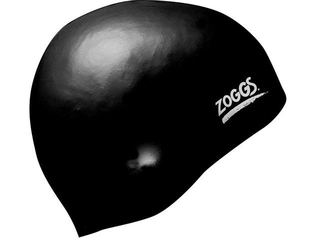 Zoggs Easy-Fit Silikon Badekappe - black
