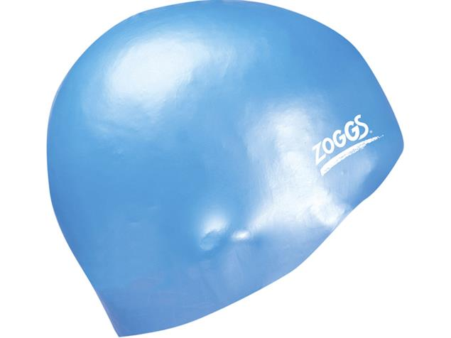 Zoggs Easy-Fit Silikon Badekappe - blue