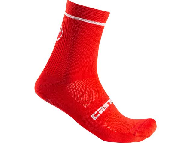 Castelli Entrata 9 Socken - L/XL red