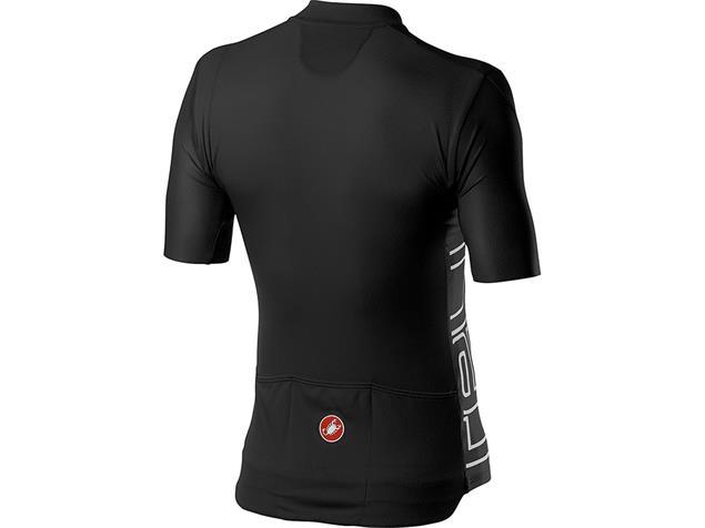 Castelli Entrata V Jersey Trikot kurzarm - XL light black
