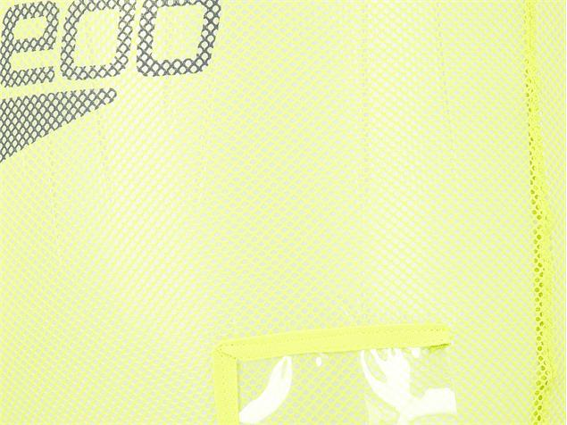 Speedo Equipment Mesh Bag Tasche - lime punch/oxid grey