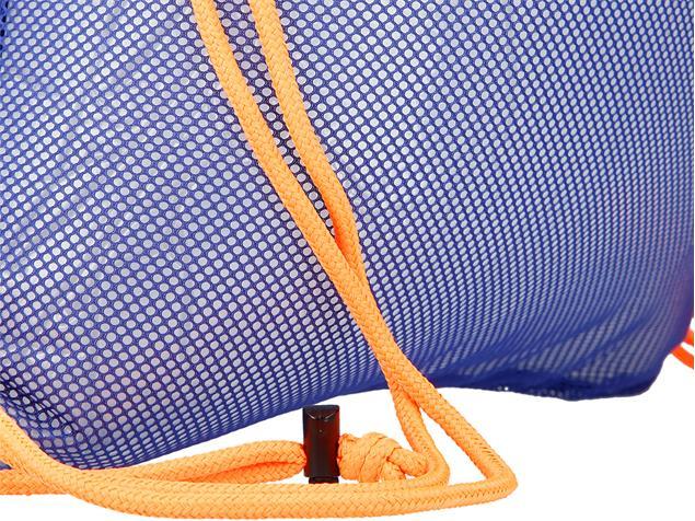 Speedo Equipment Mesh Bag Tasche - ultramarine/fluo orange